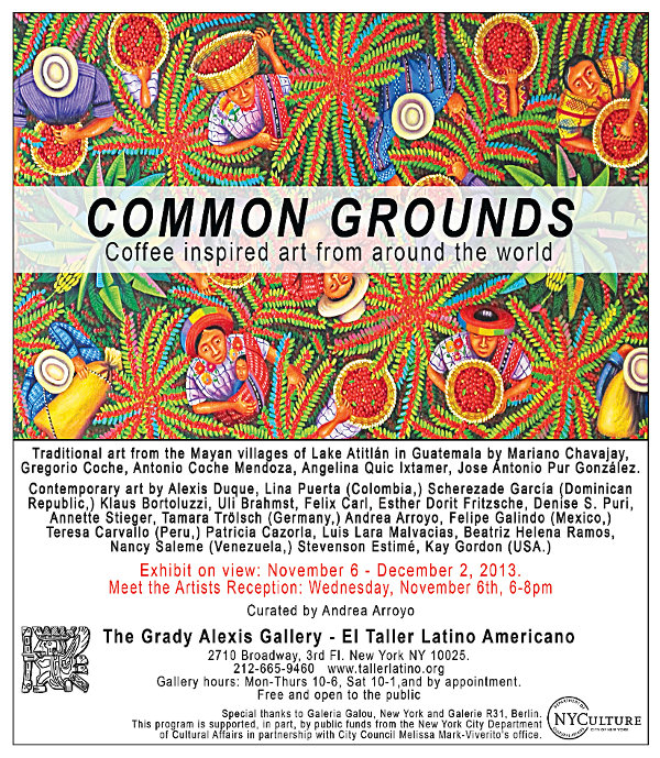 "Bild ""Aktuell:Common_Grounds_Exhibit_11-6-13_El_Taller_Latino_Americano-web.jpg"""